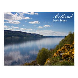スコットランド-ネス湖の郵便はがき ポストカード