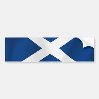 スコットランド バンパーステッカー