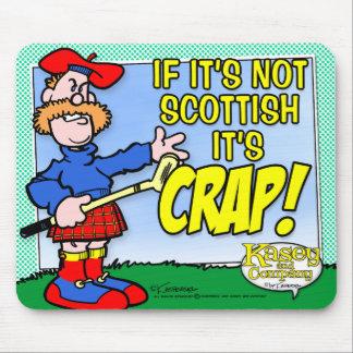 スコットランド マウスパッド