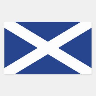 スコットランド 長方形シール