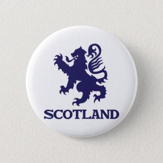 スコットランド 5.7CM 丸型バッジ