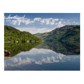 スコットランド- Loch Lomondの郵便はがき ポストカード