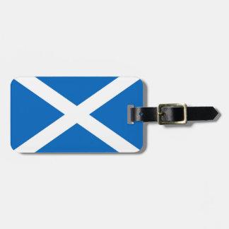 スコットランドSaltireの荷物のラベル ラゲッジタグ