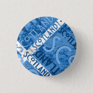 スコットランドSaltireボタン 缶バッジ