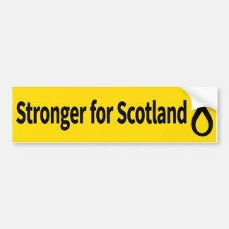 スコットランドSNPのロゴのためにより強い バンパーステッカー