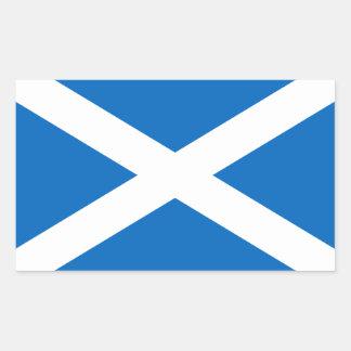 スコットランドSt Andrewの十字のサラソウジュのスコットランドの旗 長方形シール