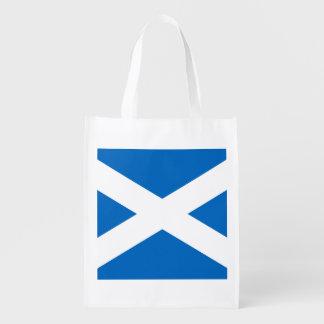 スコットランドSt Andrewの十字のスコットランドの旗 エコバッグ