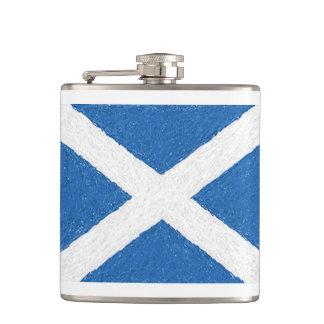 スコットランドSt Andrewの十字の旗のフラスコ フラスク