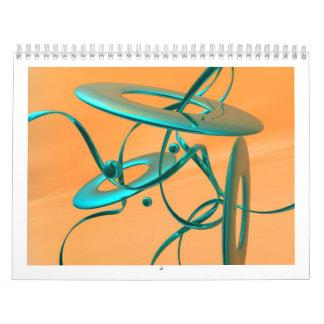 スコット桟橋のデジタル芸術のカレンダー カレンダー
