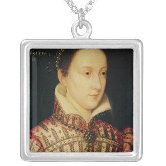 スコット、c.1560のメリー女王のミニチュア シルバープレートネックレス