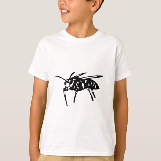 スズメバチ グッズ 蜂 hornet; yellow jacket; wasp 切り絵 tシャツ