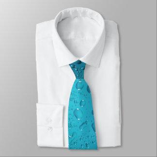 スタイリッシュでクールな青海原の低下 ネクタイ