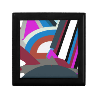 スタイリッシュでモダンな抽象美術 ギフトボックス