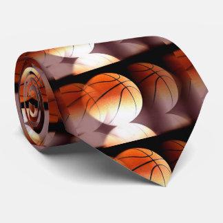 スタイリッシュでユニークでモダンなバスケットボール ネクタイ