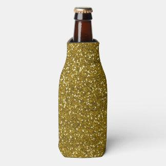 スタイリッシュなグリッターの金ゴールド ボトルクーラー