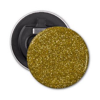 スタイリッシュなグリッターの金ゴールド 栓抜き