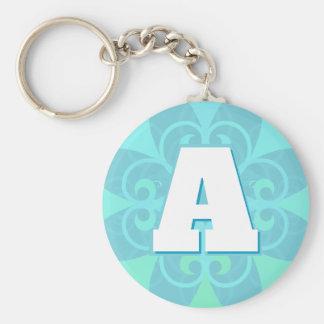 スタイリッシュなデザインの大文字Keychain キーホルダー