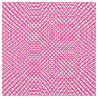 スタイリッシュなピンクの織り目加工のヘリンボンパターン(の模様が)ある ファブリック
