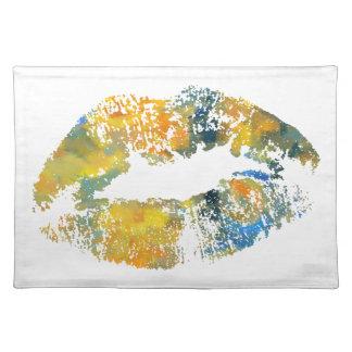 スタイリッシュな唇#11 ランチョンマット