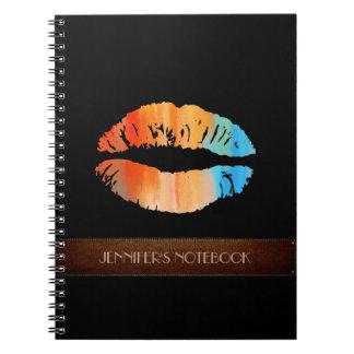 スタイリッシュな唇#8 ノートブック