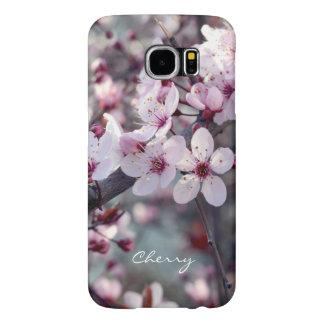 スタイリッシュな春の桜の桜の自然の花柄 SAMSUNG GALAXY S6 ケース