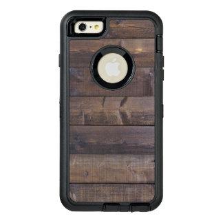 スタイリッシュな木製の一見の自然の木製の穀物の質 オッターボックスディフェンダーiPhoneケース
