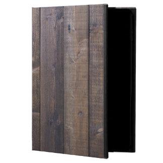 スタイリッシュな木製の一見-自然の木製の穀物の質 POWIS iPad AIR 2 ケース