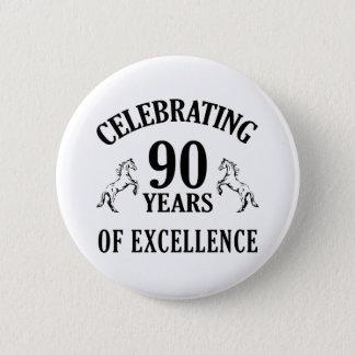 スタイリッシュな第90誕生日プレゼントのアイディア 5.7CM 丸型バッジ