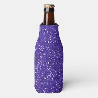 スタイリッシュな紫色のグリッター ボトルクーラー
