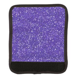 スタイリッシュな紫色のグリッター ラゲッジ ハンドルラップ