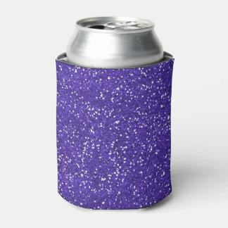 スタイリッシュな紫色のグリッター 缶クーラー