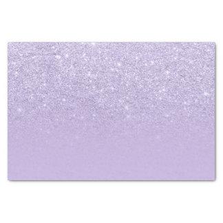 スタイリッシュな紫色のラベンダーのグリッターグラデーションな色のブロック 薄葉紙