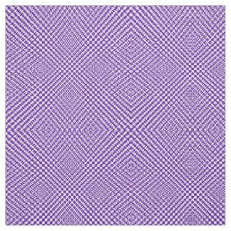 スタイリッシュな紫色の織り目加工のヘリンボンパターン(の模様が)ある ファブリック