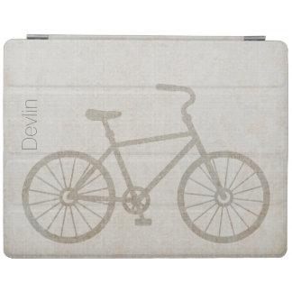 スタイリッシュな自転車のシルエットのカスタムなiPadカバー iPadスマートカバー