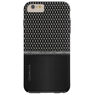 スタイリッシュな金属一見のiPhone 6のプラスの場合 シェル iPhone 6 ケース