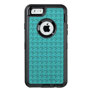スタイリッシュ青花柄Apple Samsung細胞ケース オッターボックスディフェンダーiPhoneケース