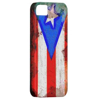 スタイルのプエルトリコのグランジな旗 iPhone SE/5/5s ケース