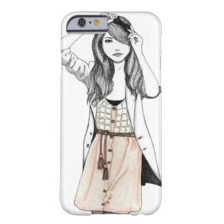 スタイルのヴィンテージの女の子 BARELY THERE iPhone 6 ケース