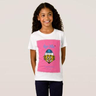 (スタイルの前にVitaのピンクの)モダンなTシャツ Tシャツ