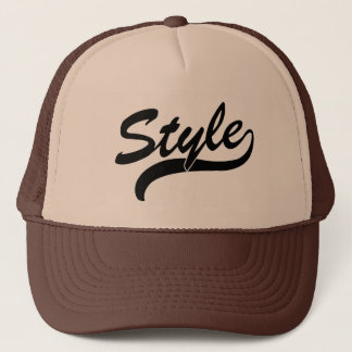 スタイルの筆記体の帽子 キャップ