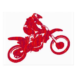 スタイルを作られるMXの赤 ポストカード