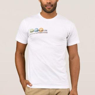 スタイルメンズTを持つ旅行及びイベント Tシャツ