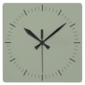 スタイル|のミニマリスト単に時間および分 スクエア壁時計
