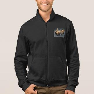 スタイル: アメリカの服装カリフォルニアフリースのジッパーJogg ジャケット
