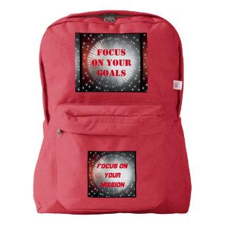 スタイル: アメリカ人のApparel™のバックパック4色の選択 American Apparel™バックパック