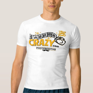 スタイル: 人の性能の圧縮のTシャツ Tシャツ