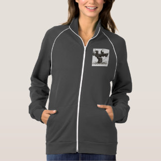 スタイル: 女性のアメリカの服装カリフォルニアフリース ジャケット