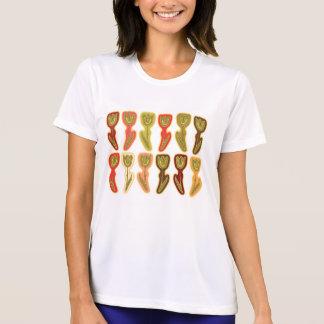 スタイル: 女性性能マイクロ繊維のTシャツ Tシャツ