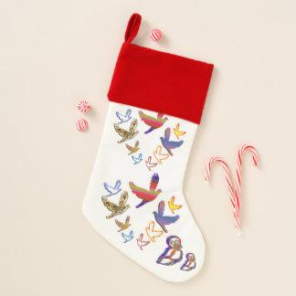 スタイル: Saに貯蔵するビロードによって並べられる優れたクリスマス クリスマスストッキング
