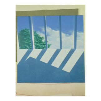 スタジオの天窓1988年 ポストカード